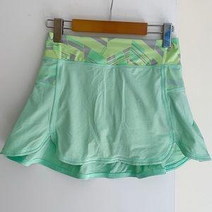 Ivivva / lululemon Skort Built-in Shorts Sz12G